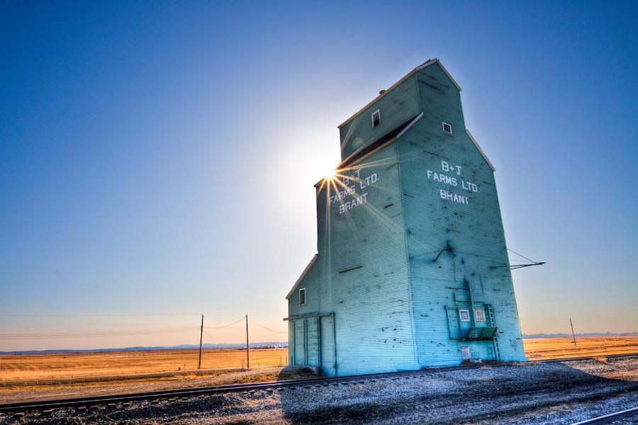 Grain Elevator In Brant Alberta 187 Heath Ofee Dot Com